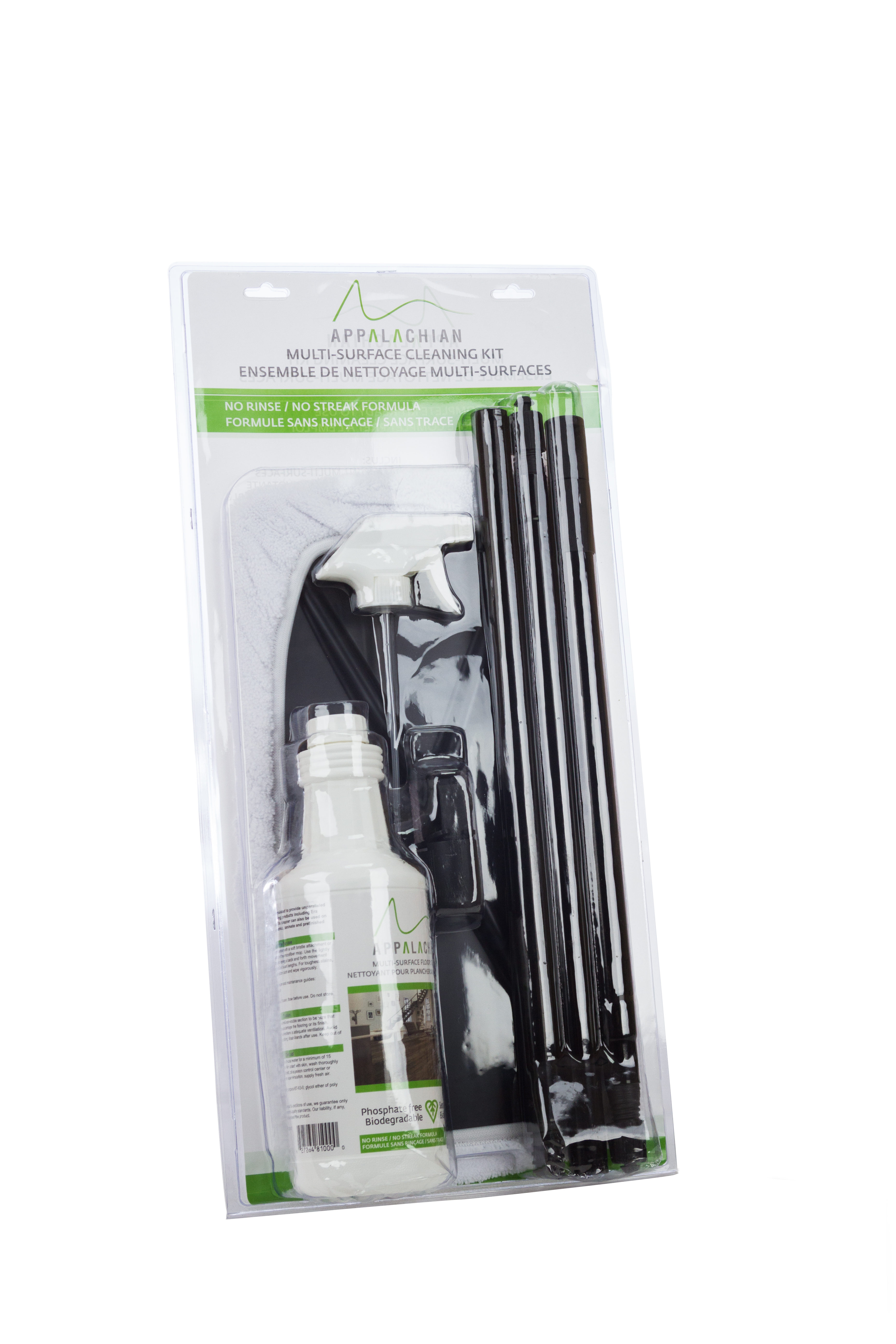 Hardwood Floor Cleaner - Complete Kit